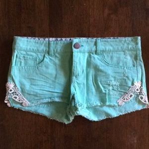 O'Neill mint shorts 3